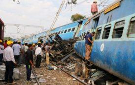 INDIA: Más de 30 muertos al descarrilarse tren