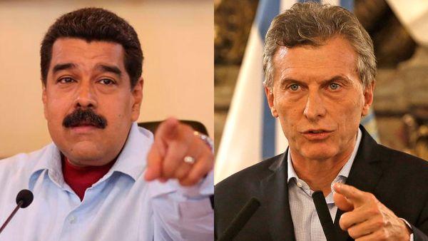 Macri acusa a Venezuela de no respetar democracia ni los derechos humanos