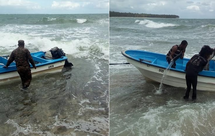 Un muerto y varios desaparecidos en un naufragio cerca de playa de Miches