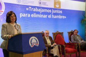 Gobierno y organismos internacionales unen esfuerzos para erradicar hambre