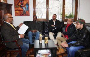 MADRID: Cónsul recibe comisión PRSC y explica sobre servicios