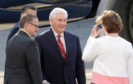 Secretario de Estado de EE.UU. llega a México