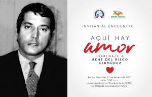 Vicepresidencia rendirá homenaje escritor René del Risco