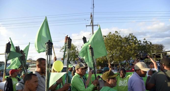 Antorcha contra la corrupción en Rep. Dominicana prosigue su recorrido