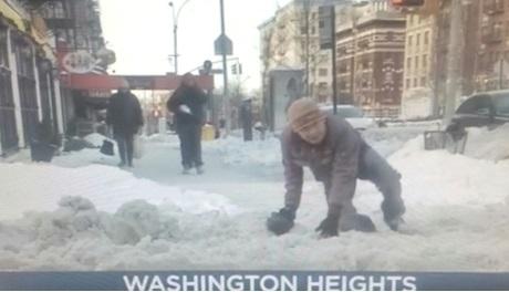 Calles siguen resbaladizas y peligrosas por nieve tormenta pasada