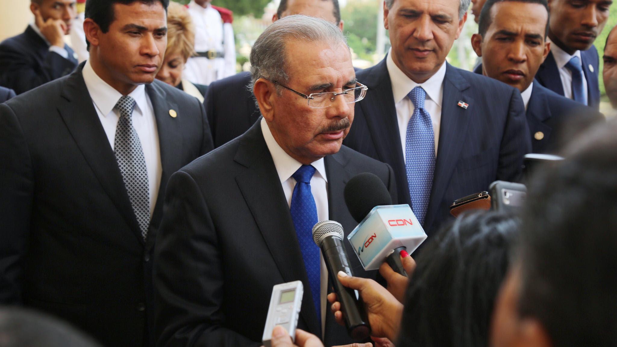 Danilo Medina niega que Odebrecht haya financiado su campaña electoral