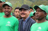 """""""No le temo al color verde"""", declaró elPresidente Medina en Hondo Valle"""
