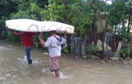 Lluvias han desplazado a 1,040 personas y afectado 208 viviendas en R. Dom.