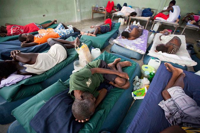 Fondos de ONU para enfrentar el cólera en Haití son insuficientes