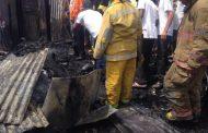 Tres haitianos, entre ellos dos menores, fallecen en incendio barrio Capotillo