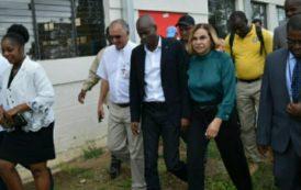 DAJABON: Presidente Haití dice confiar en potencial económico de la frontera