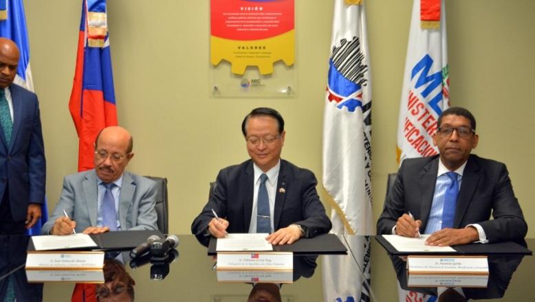 Taiwán dona RD$20.8 millones para fortalecer Innovación de las Pymes