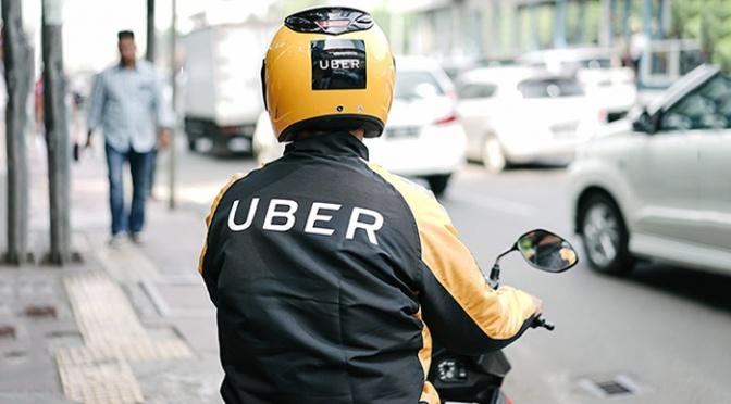 La red Uber agrega motocicletas a sus servicios en la República Dominicana