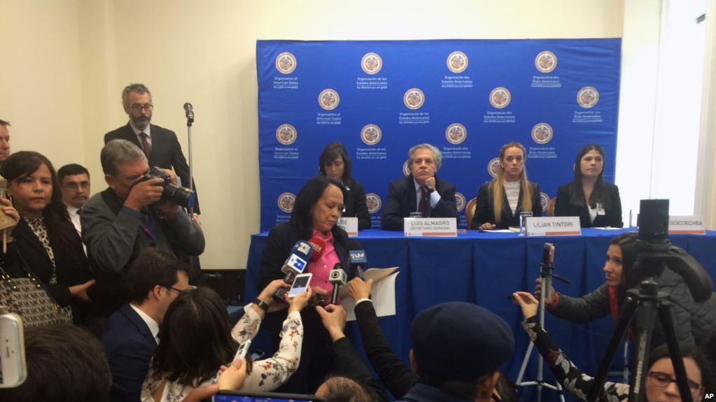Venezuela interrumpe conferencia de prensa de la OEA