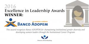 Banco ADOPEM gana el premio a la Excelencia del BM