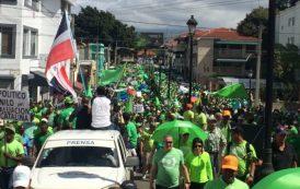 Marcha Verde Santiago: Piden cárcel para corruptos y fin de la impunidad en la RD