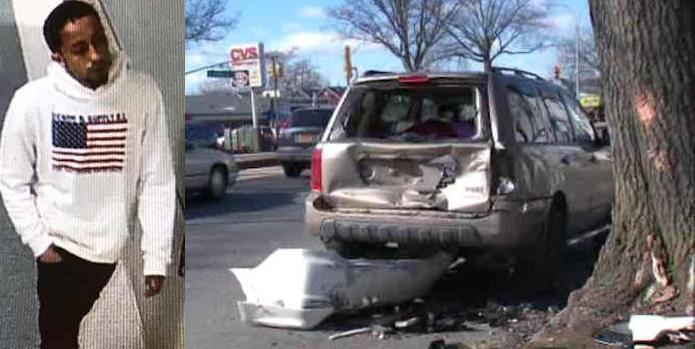 Buscan dominicano abandonó hermano herido tras chocar en Queens