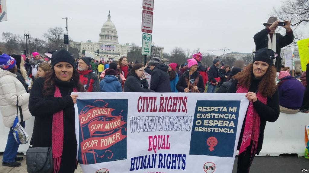 EEUU: Convocan a «Un día sin mujeres» en señal de protesta