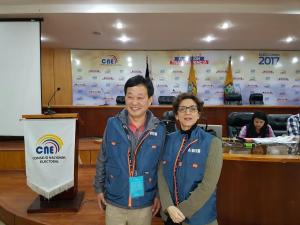 ECUADOR: Titular JCE participará como observadora elecciones