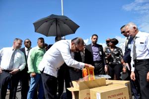 Aduanas confisca 8 millones cigarros de contrabando procedentes de EE.UU.