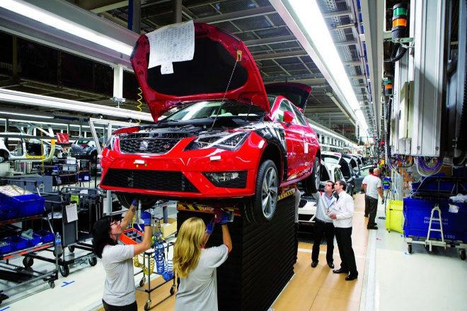 España, octavo fabricante mundial de automóviles