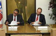 Indotel e Inposdom firman convenio de donación de 25 computadoras