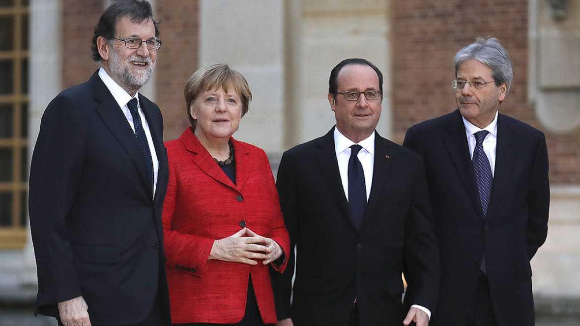 PARIS: Cuatro grandes de la UE apuestan por renacer tras el 'Brexit'