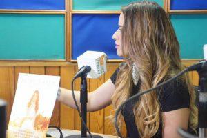 Nathalie Hazim de gira promocional en México