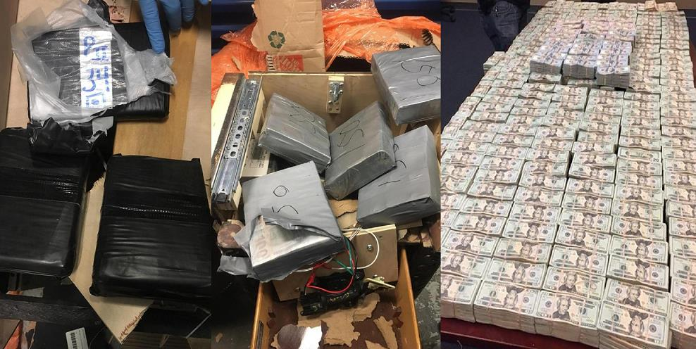 NUEVA YORK: Acusan dominicanos de esconder heroína y US$4.1 millones