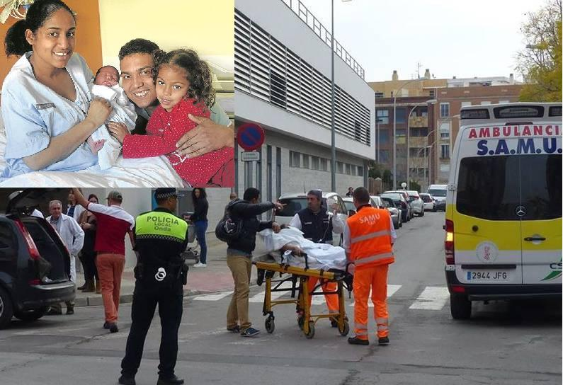 ESPAÑA: Dominicana da a luz a su bebé en auto frente al hospital