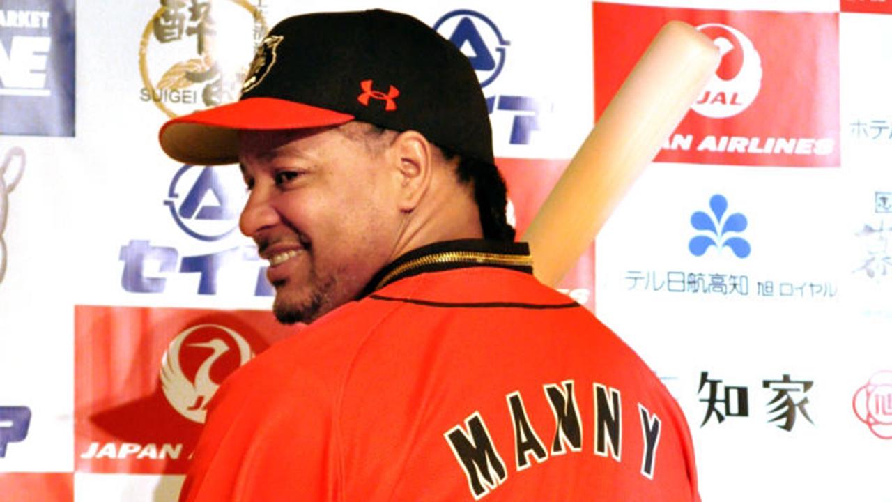 Manny Ramírez comienza nuevo capítulo en Japón