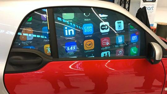 Tecnología israelí de vidrio puede ayudar a las ventanas de automóviles a mostrar anuncios