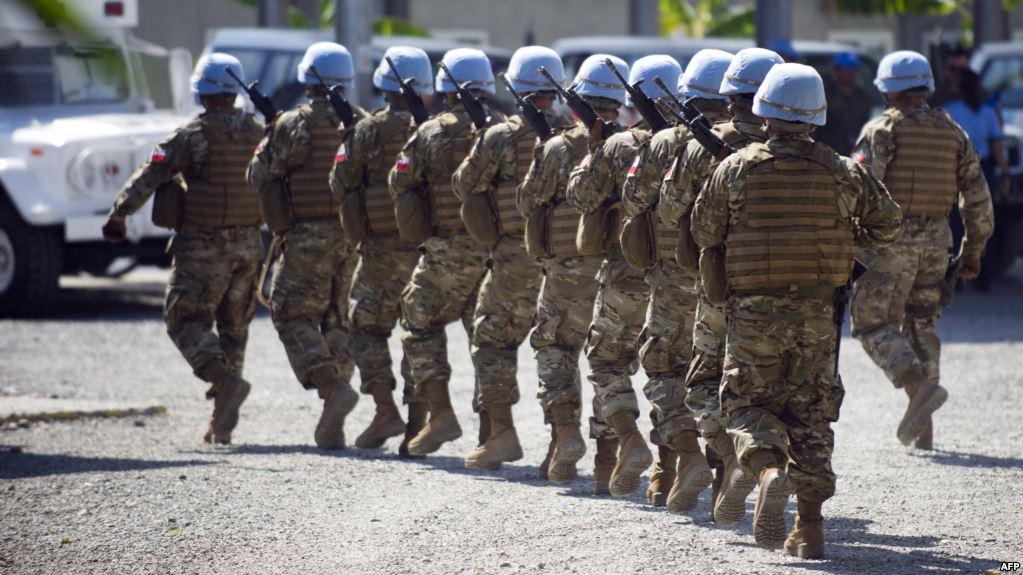 La ONU considera terminar misión de paz en Haití