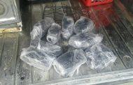 JIMANÍ: Ocupan 9 paquetes de marihuana