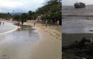 PUERTO PLATA: Prohíben bañistas en playas de la zona por altos oleajes