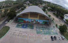 Polideportivo San Cristóbal en pésimas condiciones
