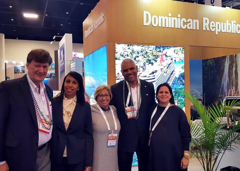 Banreservas participa en la feria Seatrade Cruise Global en Miami