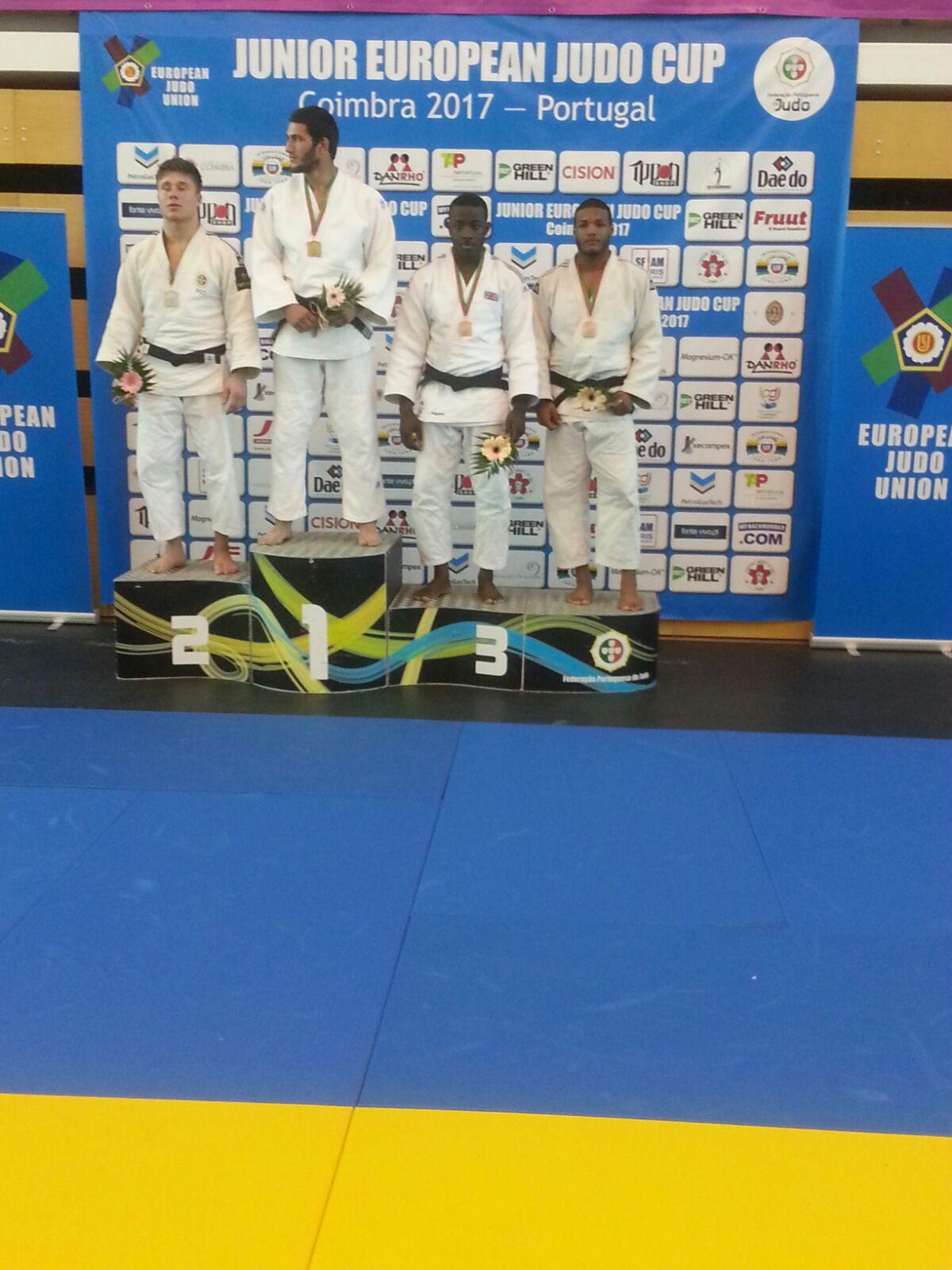 Nova y Florentino ganan bronce en Judo Europeo