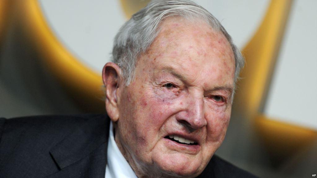 Muere el multimillonario David Rockefeller a los 101 años