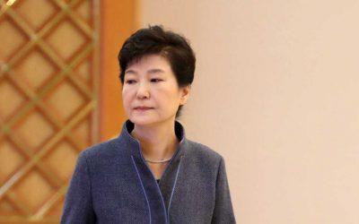 La presidenta surcoreana, Park Geun-hye.