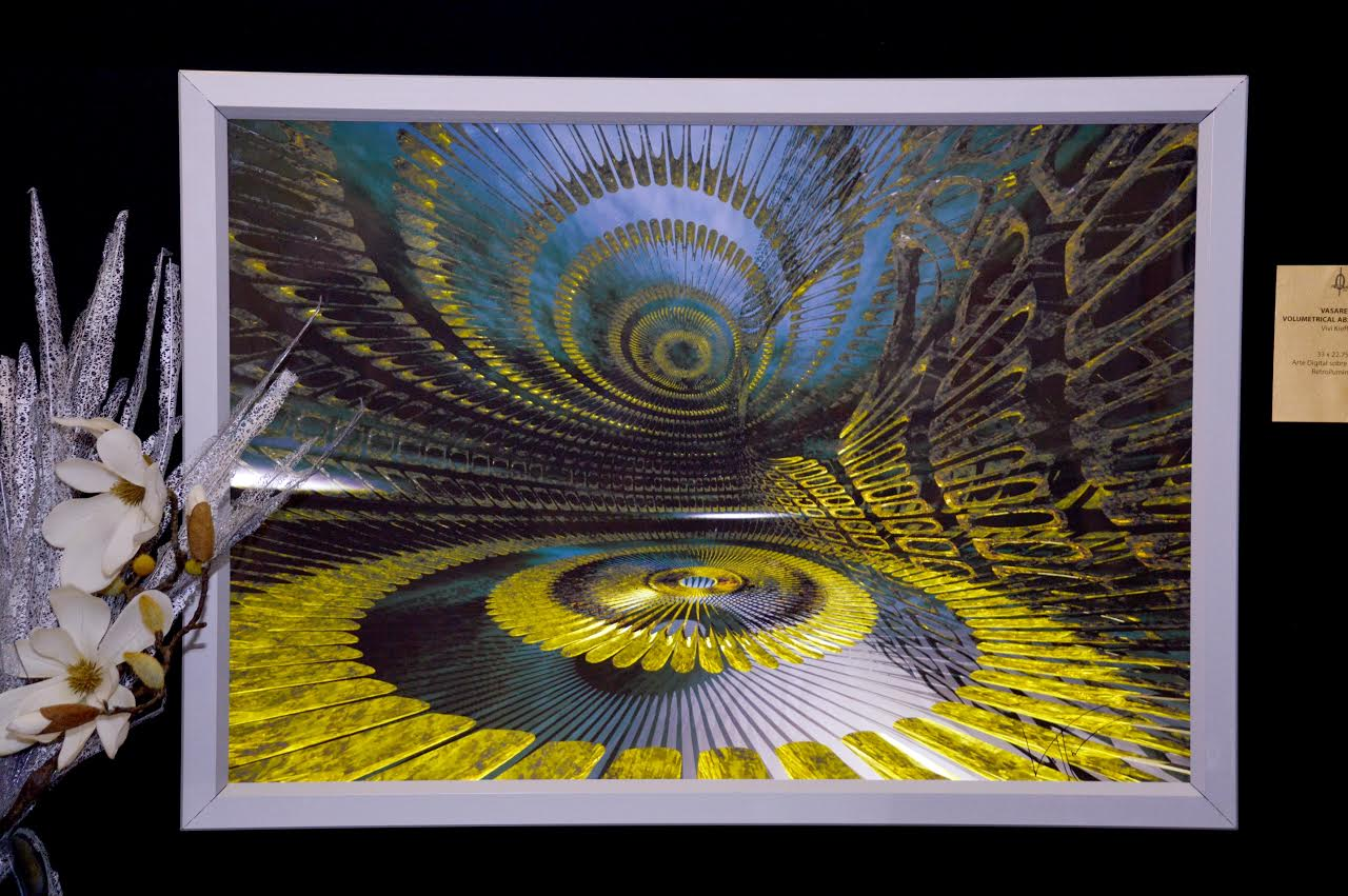 "Vivi Kieffer expone ""Abstracción volumétrica"""