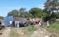 Patana se estrella con vivienda, mata a una persona e hiere dos en la 6 de Noviembre