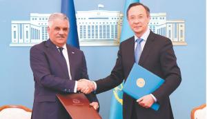 Rep. Dominicana y Kazajistán establecerán vínculos comerciales