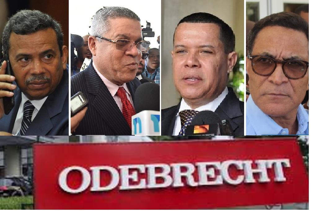Muestran certificados de enfermedades cuatro imputados por el caso Odebrecht