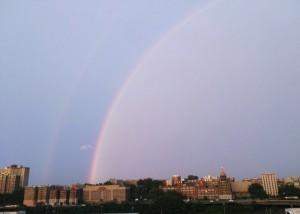 NUEVA YORK: Arcoiris en el Bronx