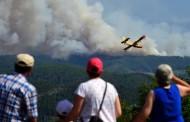 PORTUGAL: Cae avión antiincendios durante extinción del fuego