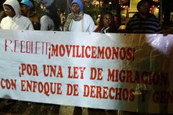 CHILE: Dominicanos protestan por discriminación