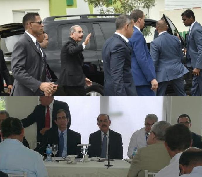 """""""Déjenme trabajar!!"""", dijo Danilo Medina alreferirse a la solicitud de su renuncia"""