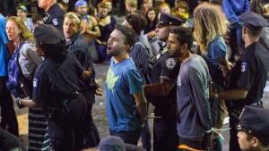 Detienen cerca de 20 activistas antinucleares en una protesta