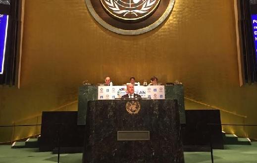 Domínguez Brito pide en la ONU ayuda para mejorar medio ambiente de Haití
